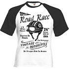 T-Shirt ROAD RACE - Cafe Racer Triumph Norton BSA Vintage Retro biker Motorcycle $21.22 CAD on eBay