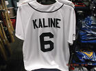 Detroit Tigers Al Kaline #6 Home Majestic MLB Jersey New