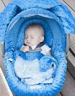 The Whole Caboodle Car Seat Cover 5 Piece Set Year-round Use Canopy Baby Infant
