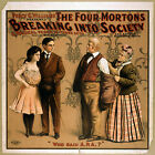 Photo Printed Old Poster: Stage Theatre Flyer Four Mortons Breaking Into Society