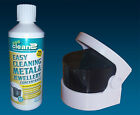Sonic Cleaner & Sea Clean 2 Concentrate Fluid 500ml Ultrasonic Denture Cleaning