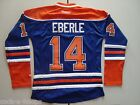 Edmonton Oilers Blue #14 JORDAN EBERLE Women's NHL Reebok Hockey Jersey NEW $44.95 USD on eBay