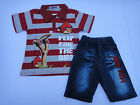 BNWT Angry Birds Summer 2pcs set / outfit size 3,4,5,6,8,10