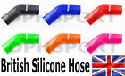 45° DEGREE SILICONE ELBOW TURBO INTERCOOLER RADIATOR BOOST HOSE MADE IN THE UK
