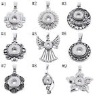 1PC Snap Pendant Fit Snap Mini Button Rhinestone DIY