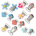 10PCs Resin Pacifier & Soother Clips Different Shapes Colors Multi-choice