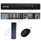 CCTV NEW QVIS 8CH DVR H264 Full D1 HDMI 8 Channel CCTV Recorder Internet HDD