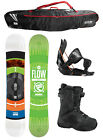 2015 FLOW MERC Brite 159cm WIDE Snowboard+Flow Bindings+Flow BOA Boots+FLOW BAG