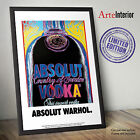 Poster ABSOLUT Andy Warhol - Stampa Fine Art Wall POP ART Alta Risoluzione