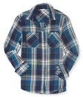 AERO Aeropostale Long Sleeve Plaid Woven Top Shirts Blouse XS,S,M,L,XL,2XL NEW!