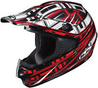 HJC CS-MX Stagger Graphic Red/Black Off Road Motorcycle Helmet