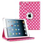 360 Rotating Folio Stand Leather Cover Case for Apple iPad 2 4 3 Mini Air 2 Pro <br/> ♬Over 20K SOLD♬Over 30 colors♬FREE Shipping♬USA Seller