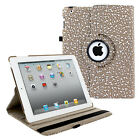 360 Leather Case for Apple iPad 9.7 5th 2017 2 3 4 Mini 7.9 Air Pro 12.9 10.5
