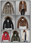 NWT Abercrombie & Fitch By Hollister Womens Jacket AF new A&F HCO xs/s/m/l