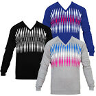 Cross Golf Path V Neck Cotton Golf Sweater 1475431