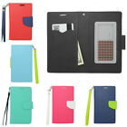 CRISIS ID Holder Leather Strap Wallet Phone Case Pouch Flip Cover for ZTE