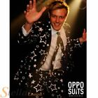 Mens Starring Christmas Star Opposuit Suit Adult Fancy Dress Costume