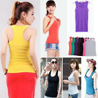 Casual Wild Women's Sleeveless Tank Tops Cami No Sleeve T-Shirt Vest
