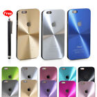 Luxury CD Pattern Aluminum Alloy Metal Cover Case Stylus For Apple iPhone 5/5s 6