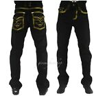 True Peviani g mens jeans, heavy stitched gold star wash hip hop urban pants,