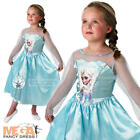 Elsa Disney Frozen Snow Queen Girls Fancy Dress Fairytale Kids Child Costume 3-8