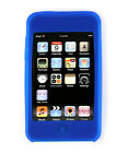 iPod i Pod Touch 2 3 2nd 3rd Gen Blue Soft Case Cover Protector Skin
