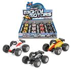 Toyrific Die-Cast Mighty Motors Pull Back Racing Cars