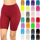Womens Cycling Shorts Dancing Gym Biker Hot Pants Leggings Active Casual Sports <br/> Made In UK-HIGH QUALITY- 6 8 10 12 14 16 18 20 22 24 26