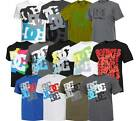 *SALE*  Mens DC Shoes Cotton crew neck T-Shirt  S M L XL  6 styles  skateboard