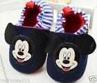 Baby Boys Mickey Mouse  Disney Casual Shoe.. Slippers ...Pre Walker Shoe