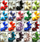 50pcs Wholesale Single Color Murano Glass Beads Fit European Charm Bracelet