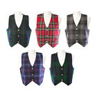 Mens' Waistcoat / Vest - Choice of Genuine Scottish Tartans - Range of Sizes