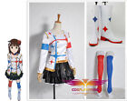 Anime The Idolmaster Palgantong Uniforms Cosplay Costuems With Boots