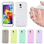 0.2mm ULTRA THIN CLEAR Rubber Soft Cover Case Samsung Galaxy S6 S5 S4 S3 & Mini