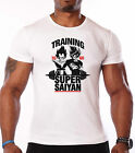 DRAGON BALL Z T-SHIRT - TRAINING SAIYAN - DBZ - INSAIYAN -  UNISEX - CLOTHING