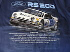 FORD RS 200 RALLY ICONIC ADULTS T SHIRT SMALL TO 3XL BRAND NEW DESIGN