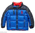NWT Ralph Lauren Polo Baby Boys Blue Big Pony Down Jacket
