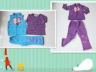 BNWT Frozen Elsa and Anna 3pcs Winter Fleecy Track Suit Outfit VEST+TEE+PANTS