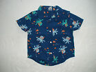 NWT GYMBOREE OCTOPUS HUGS BLUE BUTTON DOWN TOP SHIRT LAYETTE
