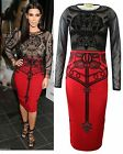 LADIES CELEBRITY KIM KARDASHIAN CHIFFON SKULL WOMENS FLOWER LONG BODYCON DRESS
