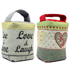 Valentine's Day Live & Laugh & Valentines Love Hearts Classic Tapestry Door Stop