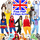 Mens Ladies Onesie Birthday Party Onsie Kigurumi Cosplay Animal Pajama Sleepwear