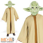 Star Wars Men's Jedi Yoda Costume Fancy Dress Costume