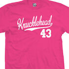 Knucklehead 43 Script Tail T-Shirt - 1943 Bike Motorcycle - All Sizes & Colors