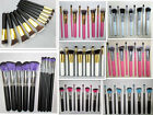 10pcs Professional Cosmetic Makeup Brushes Set Foundation Eyeshadow Brush Tools