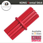 KONG Classic Dental Stick -Puppy Dog Oral Teething Chew Toy (Small Medium Large)