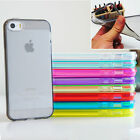 Clear Soft TPU silicone gel case cover for iPhone 4 4S 5 5S 5C 6 6P PLUS