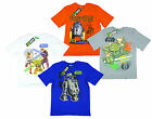 Boy's Star Wars Value Pack of 2 YODA & R2D2 Cotton T-Shirts Tops 4-12 Yrs NEW