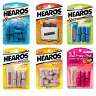 HEAROS Hearing Protection Range of Earplugs Xtreme Protection Ultimate Softness