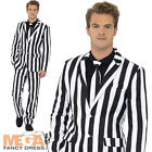 Humbug Suit Mens Fancy Dress Halloween Christmas Adults Stag Party Costume New